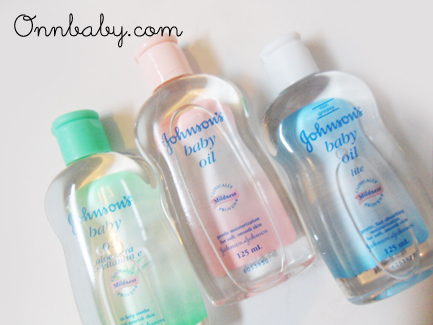 Baby oil as makeup remover